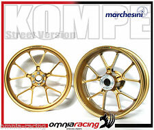 Wheels Marchesini Aluminum Forged Oro - Aluminum Wheels Aprilia Tuono V4
