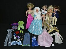 ThriftCHI ~ Mixed Lot Of Barbie & Barbie Like Dolls w Some Clothing