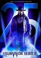 WWE Survivor Series 2015 [DVD] *NEU* Region Code 2 25 Jahre Undertaker
