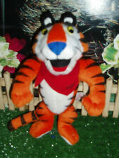 """KELLOGGS TONY THE TIGER STUFFY WITH POSE-ABLE ARMS AND LEGS - 8"""" TALL"""