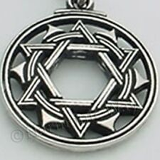 TANTRIC STAR of INNER BALANCE Powerful Mandala Yoga Pendant Hexagram Necklace