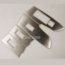 Stainless Interior Door Window Switch Cover Trim for Toyota Corolla 2014 2015