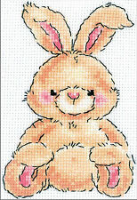 Cross Stitch Mini Kit ~ RTO Cute Brown Leveret (Baby Hare) #H193