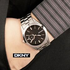 DKNY MEN'S CLASSIC SILVER EDITION LUXURY DRESS WATCH NY1534