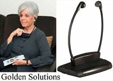 Golden Solutions IR TV Wireless Headphones Infrared ITGSH-150 Brand New