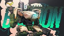 HOT Blizzard Game OVERWATCH BASTION MERCY Reaper PHARAH poster quality printing