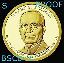 2015 S Presidential Dollar - Harry S Truman PROOF coin - In Stock - Ship TODAY
