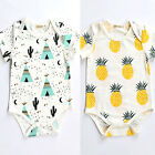 Lovely Newborn Kids Baby Boy Girl Infant Romper Jumpsuit Bodysuit Clothes Outfit