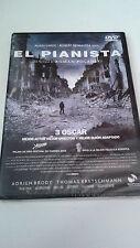 "DVD ""EL PIANISTA"" PRECINTADO SEALED ROMAN POLANSKI ADRIEN BRODY"