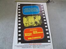 """AUTHENTIC MOVIE POSTER # 602, """"THE FORTUNE"""", FROM 1975"""