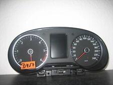 Tacho Kombiinstrument VW Polo 6R 6R0920861H Diesel Bj.2012 Cluster Cockpit D417