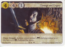 3 x Lineage and Legacy AGoT LCG 1.0 Game of Thrones Kings of the Storm 55