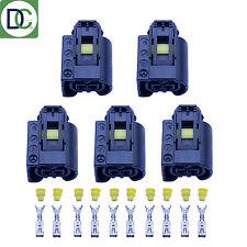 5 x mercedes classe m authentique diesel injecteur connecteur plug bosch common rail