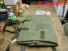 *US Military Army Parachutist Weapons/Gun Padded OD Green Canvas Carry Pack/Bag