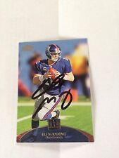 Eli Manning Autographed 11 Topps Prime PERSONALLY OBTAINED w/COA