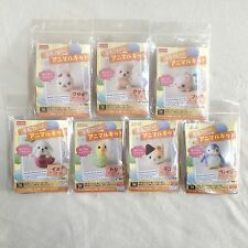 DAISO Japan Needle Felting Animal Kit Complete 7 Piece Set • Fast Airmail