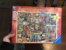 RARE RAVENSBURGER LIMITED EDITION PUZZLE THE CHRISTMAS CUPBOARD 1000 PCS #195619