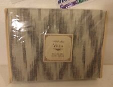 NOBLE EXCELLENCE VILLA AMARA TAUPE IKAT DUVET COVER! FULL/QUEEN New $129.00
