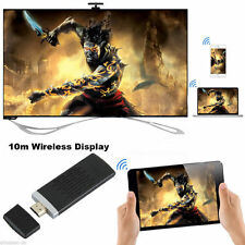 Excelvan Wireless 300Mbps Dual WiFi 2.4GHz HDMI Miracast Media Display Dongle