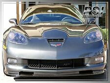 Carbon Fiber Front Bumper Lip For 2005-2013 Chevrolet Chevy Corvette C6 Z06 ZR1