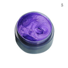 5 Colors Unisex DIY Hair Color Wax Mud Dye Coloring Cream Temporary Modeling New