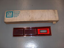 1980-1985 Chevy Citation Genuine GM NOS Rear Tail Light Directional Red Lens LH