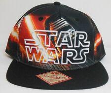 Star Wars KYLO REN * NEW Men's OSFM Cap * NWT Hat - Snapback - Force Awakens