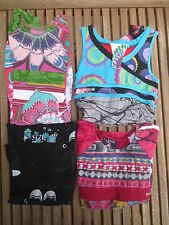 Lot 2 Robe + 2 Tunique DESIGUAL fille 7 / 8 ans + 9 / 10 ans
