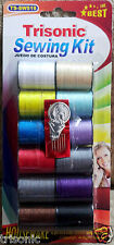 12pc Assorted Colors Sewing Thread Spool Cotton All Purpose Art Craft Projects