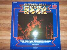 (SPAIN PRESS) ALLMAN BROTHERS BAND HISTORIA DE LA MUSICA ROCK LP (1982) HITS