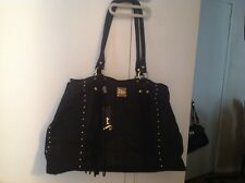 JENRIGO Black Leather X-Large bag