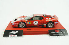 1/18 BBR FERRARI 365 GT4 BB 24HR LEMANS 1977 CAR #75 RED DELUXE LEATHER LE 10 MR