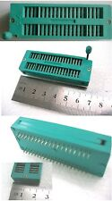 40 pin Universal ZIF Test DIP IC Socket PIC made by 3M