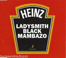 LADYSMITH BLACK MAMBAZO - Inkanyezi Nezazi (UK 3 Tk 1997 CD Single)