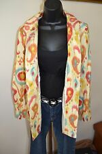 3 Sisters Jacket 3S191 S (4-6) Karissa Women's A-Line Swing Coat USA Made 5242