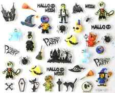 Nail art autocollants stickers ongles:Décorations Halloween squelettes sorcières