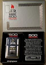 Zippo lighter 500 million Limited Edition 5pc