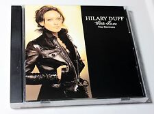 "HILARY DUFF ""With Love"" RARE PROMO MAXI CD DANCE REMIXES X14 ~ EX/NM © 2007"