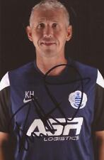 QPR: KEVIN HITCHCOCK SIGNED 6x4 PORTRAIT PHOTO+COA