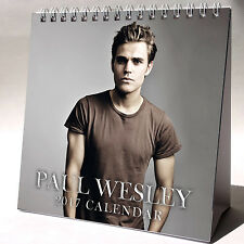 Paul Wesley Desktop Calendar 2017 NEW The Vampire Diaries Stefan Salvatore