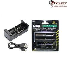 XTAR MC2 14500 16340 17500 18350 18500 18650 18700 26650 Li-ion Charger UK Stock
