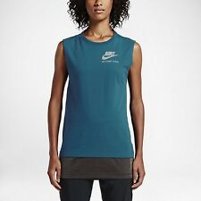 Nike NEW Double-Layer International Womens Running Top 802360 Large L $60