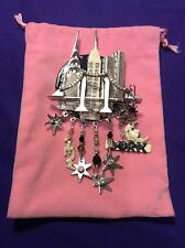 """LUNCH AT THE RITZ """"CITY LIGHTS"""" PIN/PENDANT"""