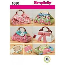 SIMPLICITY SEWING PATTERN CASSEROLE & DISH CARRIERS BAGS  1680