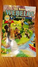 "Cub Scout ""WEBELOS"" Handbook. Boy Scouts of America 484 pages 2011"