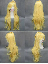 Panty & Stocking with Garterbelt Long Blonde Cosplay Party Full Wig Hair