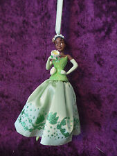 Disney Sketchbook Ornament Collection Princess And The Frog Tiana Green Fabic
