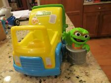 Playskool Sesame Street - Oscar the Grouch and Garbage Truck