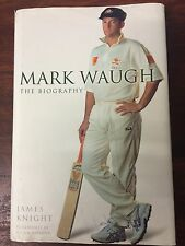 MARK WAUGH/Hand Signed.Autographed.THE BIOGRAPHY JAMES KNIGHT.HC Hardcover.VG