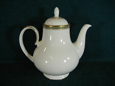 """Royal Doulton Clarendon H4993 Large 8"""" Coffee Pot with Lid"""